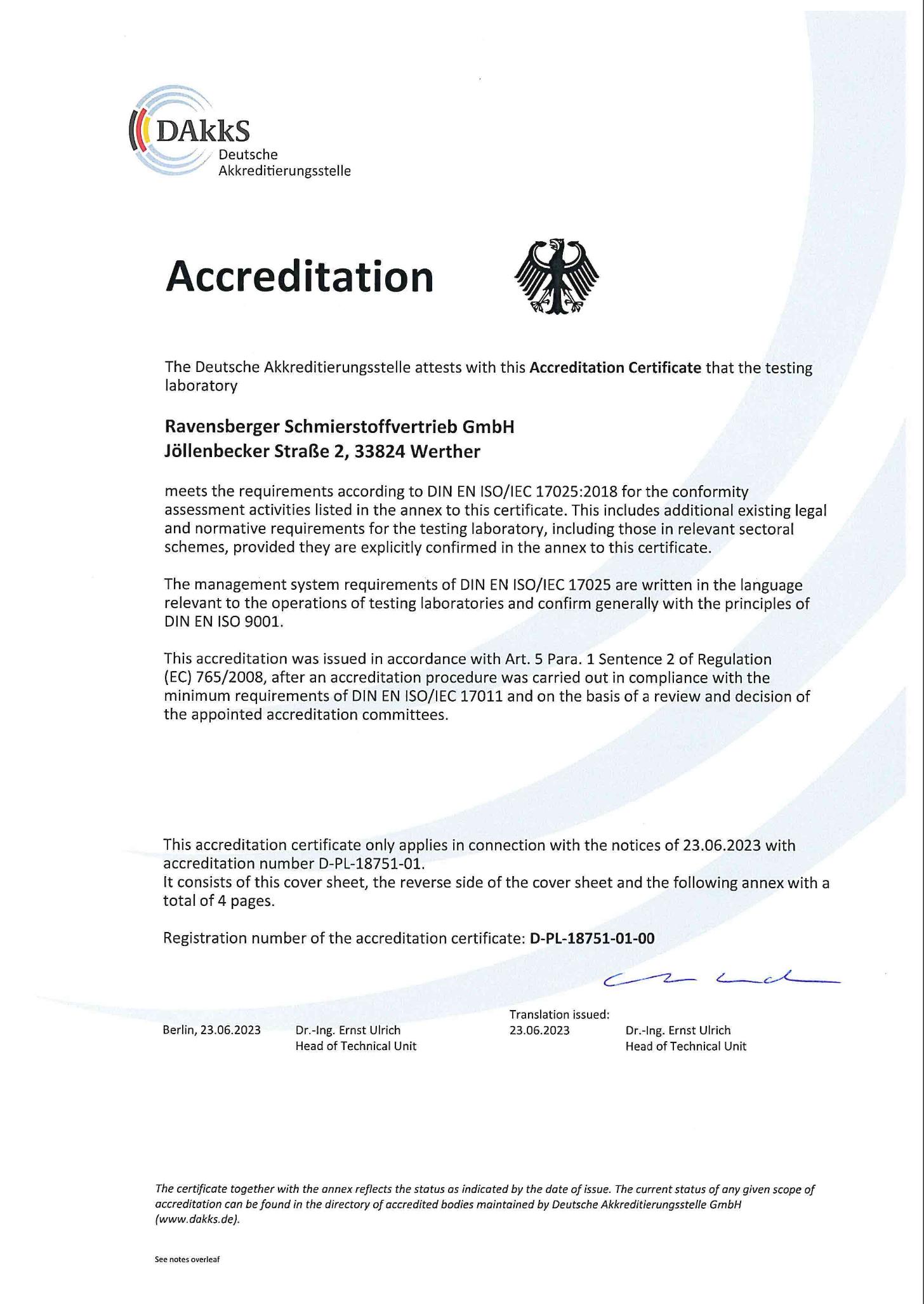 Akkreditierung